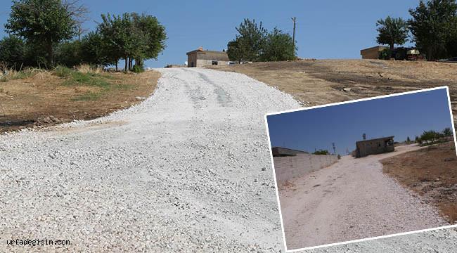 Taşlıca ve İkiağız'da köy içi yollar yapıldı