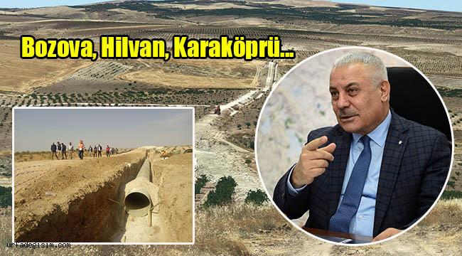 Urfa'da 31 bin dekar arazi daha suya kavuşacak