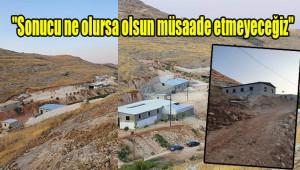 Urfa'da hazine arazilerini işgal ediyorlar