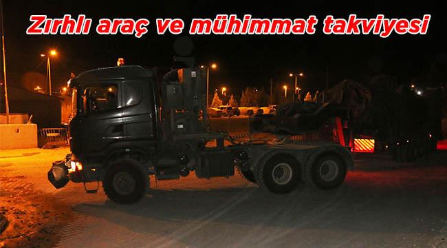 Urfa'dan sınıra askeri sevkiyat