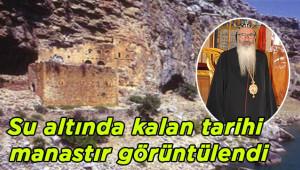 800 yıllık Mor Efrem Manastırı görüntülendi