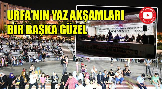 Akşam konseri bu kez Turgut Özal'da düzenlendi