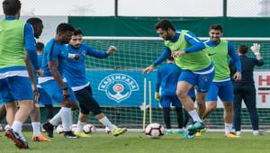 Antalyaspor maçı hazırlıklarını sürdürdü
