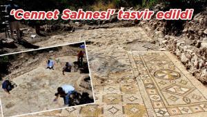 Bin 500 yıllık mozaik taşındı