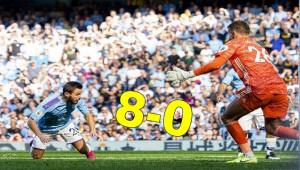 City'den Watford Ağlarına 8 Gol