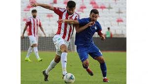 Dostluk maçını Erzurumspor kazandı