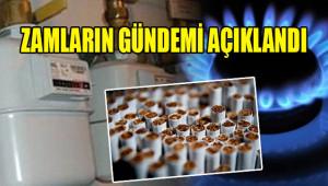 En çok tütün ürünlerini ve doğalgazı etkiledi!