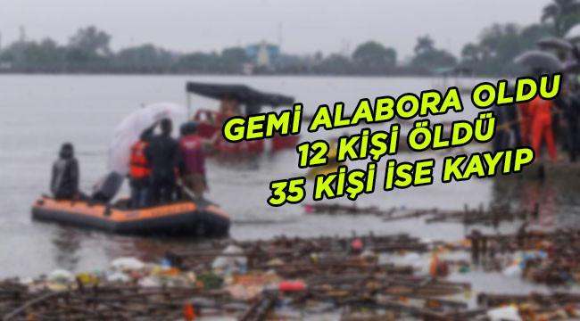 Gezi teknesi alabora oldu: 12 ölü, 35 kayıp