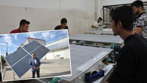 Güneş panelleri ihraç ediliyor