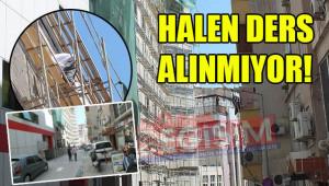 Hastane inşaatında güvenlik endişesi