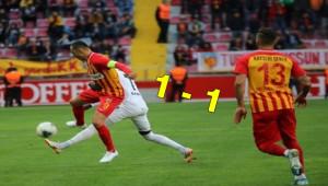 Kayserispor 1 - 1 Denizlispor