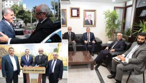 Kuveyt Büyükelçisinden Büyükşehir'e ziyaret