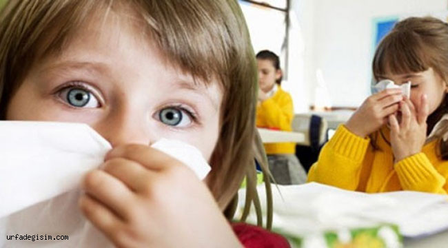Okul ve kreşlerdeki virüslere dikkat!