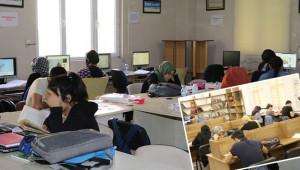 Okuma Evleri ile sınava hazırlanıyorlar