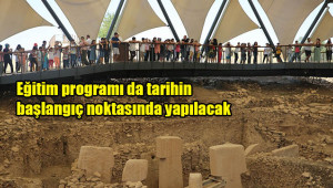 Sosyal girişimciler bu yıl Göbeklitepe'de