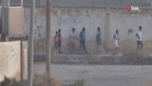 Teröristler sınırda çocukları kullanıyor