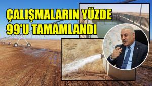 191 bin 650 dekar arazi suyla buluşacak