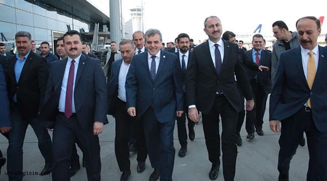 Adalet Bakanı Urfa'ya geldi