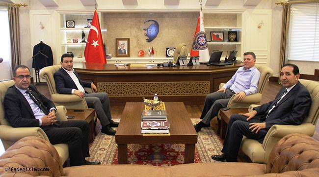 Belediye Başkanlarından Emniyet Müdürüne ziyaret