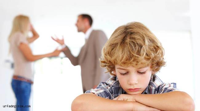 Çocukların yanında tartışmayın!