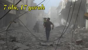 Esad Rejimi İdlib'e Saldırısı; 7 ölü, 17 yaralı