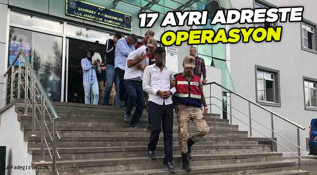 Fıstık ve hayvan hırsızlarına operasyon: 11 gözaltı