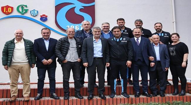 Güneş'ten Trabzonspor'a ziyaret