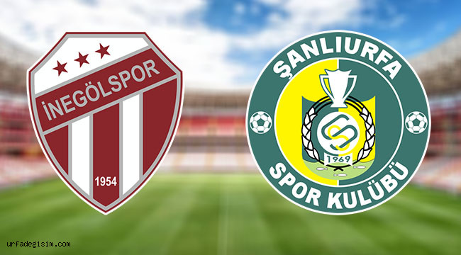 İnegölspor 4 - 0 Şanlıurfaspor