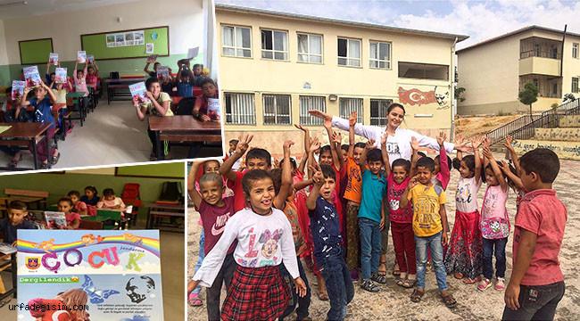 Jandarmadan Urfa'daki öğrencilere hediye