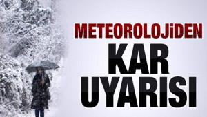 Kar'lı Havanın etkisine girilecek