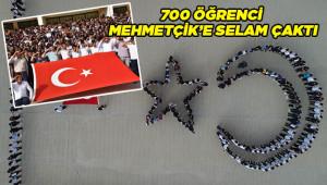 Mehmetçik'e ay yıldızlı destek