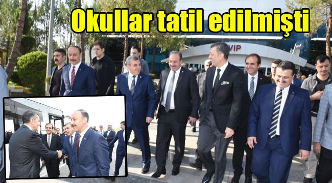 Milli Eğitim Bakanı Urfa'ya geldi
