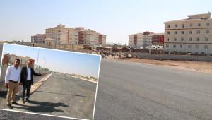 Okulların yolu asfaltlandı