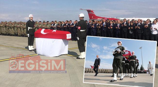 Şehit Selimoğlu memleketine gönderildi