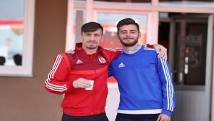 Sivasspor kupa maçı için Ankara'ya gitti