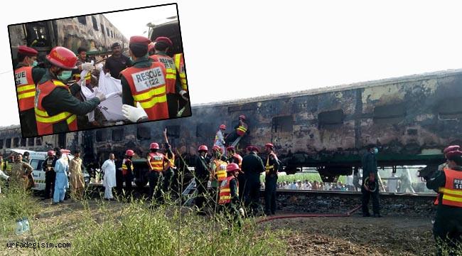 Tren yangını faciası: 72 ölü