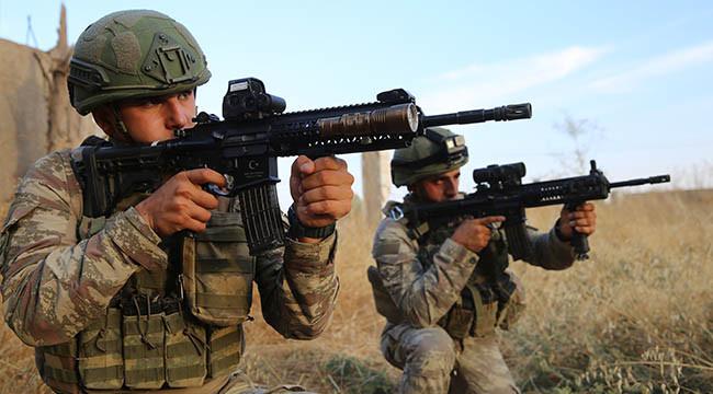 Yerli silahlarla terör hedefleri vuruluyor
