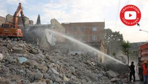 3.Etap yıkımları devam ediyor