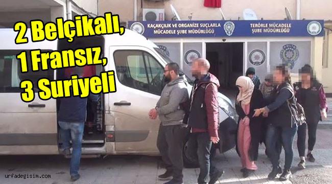 5 DEAŞ'lı tutuklandı