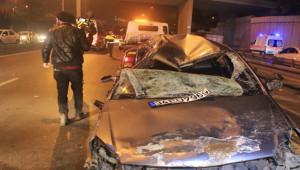 Alkollü Sürücü Dehşeti; 2'si ağır, 3 yaralı