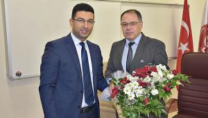 Altay, yeni başhekime görevi devretti