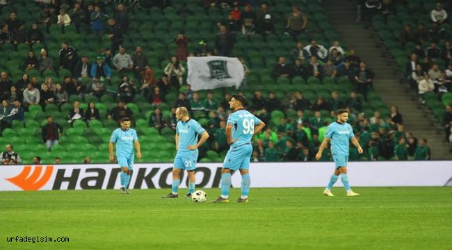 Avrupa'da İddiası Kalmayan Trabzonspor Lige Döndü