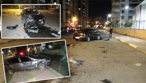 Trafik kazaları peş peşe geldi