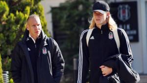 Beşiktaş Avrupa'ya gitti