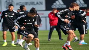 Beşiktaş - Konyaspor Maçına 6 Eksikle Çalıştı!