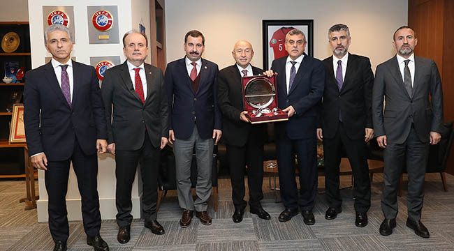 Beyazgül'den TFF başkanına ziyaret