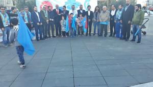 'Doğu Türkistan bizim için şeref meselesidir'