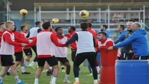 Gaziantep - Galatasaray Maçı Hazırlıkları Sürüyor