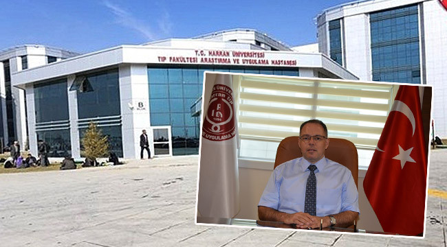 Harran Tıp'ın Başhekimi istifa etti
