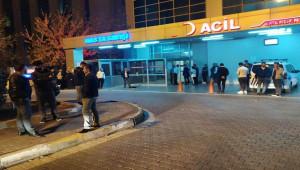 Hastanede Silahlar Çekildi; 1'i ağır 3 kişi yaralı